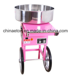 ETL Certificate Electric Candy Floss Machine with Cover and Cart pictures & photos