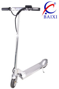 Kick Electric Vehicle Scooter with Iron Stand (BX-DD001) pictures & photos