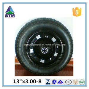 10 13 14 15 16 Inch Rubber Pneumatic Wheel for Wheelbarrow Hand Trolley pictures & photos