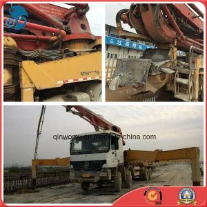 42m Concrete-Delivery Used White-Paint 2005~2008 Sany-Pump Isuzu-Chassis Pump Truck (8*4-LHD-DRIVE) pictures & photos