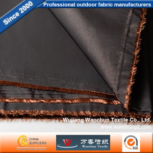 Memory Fabric Black and Brown for Garment