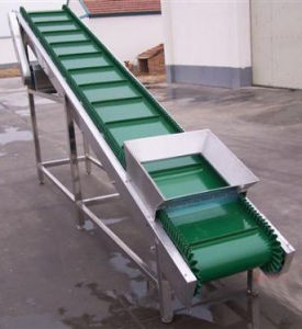 Hot Sale Fixed Inclined Food Grade Belt Conveyor pictures & photos