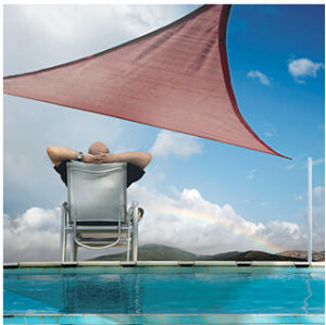 Hot Sale! UV Stabilized HDPE Sun Shade Sail (Manufacturer)