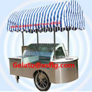 CE Certification for Europe Ice Cream Cart pictures & photos
