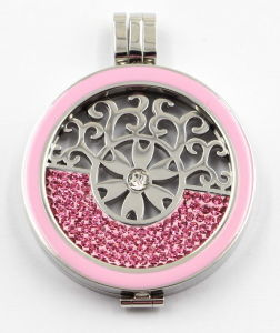 Factory Wholesale of Fashion 316L Stainless Steel Locket Jewelry with Enamel Top pictures & photos