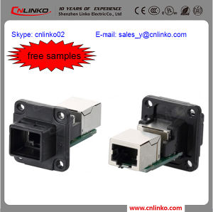 RJ45 LAN Connector/RJ45 Plug Connector/RJ45 Connector Jack pictures & photos