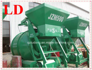 Rubber Wheels Friction Driven Electrical Concrete Mixer (JZM500)
