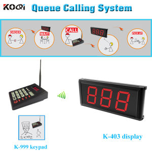 Customer Queuing System for Restaurant for Cooker Call Waiter pictures & photos
