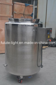 Movable Stainless Steel Storgae Tank with Electric Heating pictures & photos