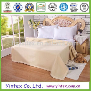 Manufacture Winter Wool Blanket Soft Sheep Wool Blankets pictures & photos