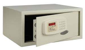 Mechanical Key Override Ivory Hotel Room Safes pictures & photos