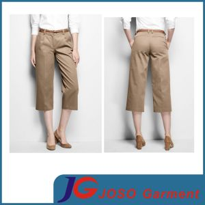 Lady Popular Fashion Short Pants Fit Chino Twill (JC1405) pictures & photos