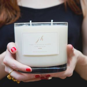 Romantic Scetned Soy Big 3-Wicks Candle in Glass pictures & photos