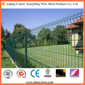 Ral6005 Green Color Welded Wire Mesh Fence (XM-SF18) pictures & photos