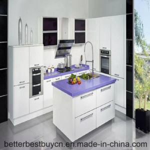 High-End Design Lacquer Finished Kitchen Cabinet pictures & photos