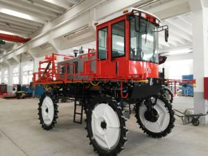 High Clearance Self Propelled Four Wheel Driven 3wp1000-18mboom Sprayer for Farm Using pictures & photos