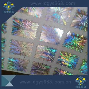 Security High Comprehensive Rainbow Effect Laser Sticker pictures & photos