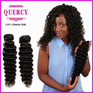 Quercy Hair New Arrival Cheap Virgin Indian Deep Wave Hair Bundles Original Indian Human Hair pictures & photos