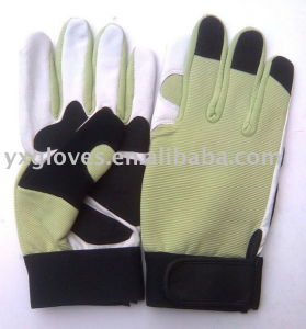 Glove-Safety Glove-Leather Working Glove-Industrial Glove pictures & photos