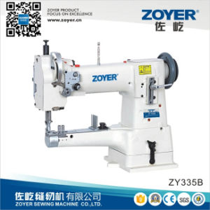 Zy335b Single Needle Cylinder-Bed Big Hook Heavy Duty Sewing Machine pictures & photos