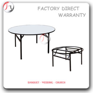 Modern Round Hotel Banqueting Table (BT-03) pictures & photos