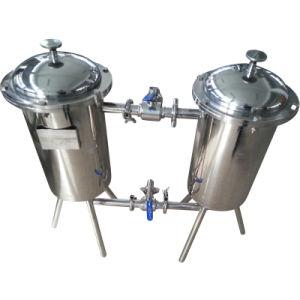 Industrial Use Duplex Filter for Milk/Juice/Yogurt/Tea Beverage pictures & photos