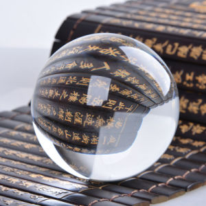 Optical K9 Clear Smooth Round Crystal Ball Sphere pictures & photos