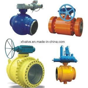 Cast Stainless Steel or Carbon Steel Flange End Ball Valve