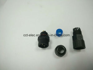 M16 2p Male Head Type a Straight Head 180 Degrees Connector pictures & photos