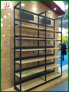 Factory Direct Wholesale Single Sided Wood Display Stand (JT-A30) pictures & photos