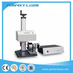 LCD Control Rotary DOT Peen Marking Machine pictures & photos
