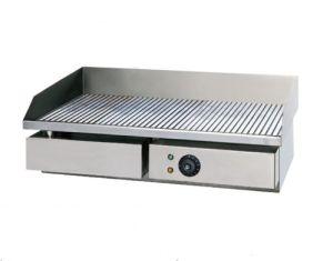 Commercial Electric Grill with Full Grooved Plate (GH-821) pictures & photos