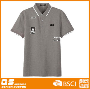 Men′s Polo Quick Dry Running T-Shirt pictures & photos