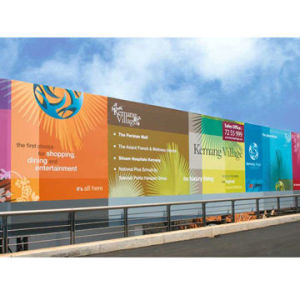 Custom UV-Resistant Digital Printing Vinyl Flex Banners pictures & photos