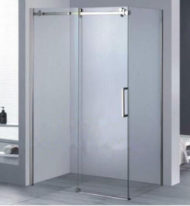 Easy Clean Nano Double Swing Bath Glass Shower Door Douchedeur pictures & photos