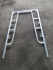 "5′x6′4"" Walkthrough Frame Scaffolding Hot DIP Galvanized pictures & photos"