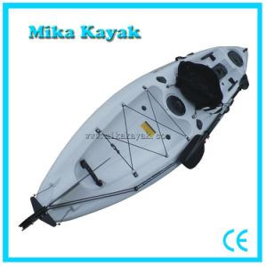 Sit on Top Sea Pedal Kayak Fishing Paddle Boat with Rudder System pictures & photos