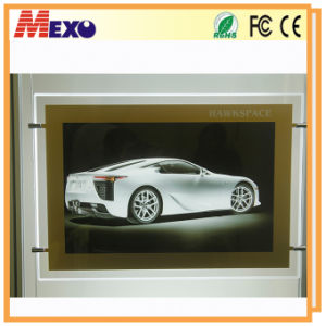 Indoor Electric Acrylic Slim LED Advertising Sign pictures & photos
