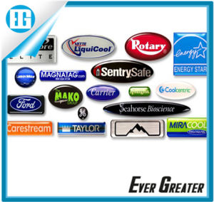 Custom UV Resistant Outdoor Durable Epoxy Dome Sticker, Custom Self Adhesive Dome Sticker pictures & photos
