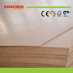 Wood Fiber Material MDF Slotted MDF Board pictures & photos