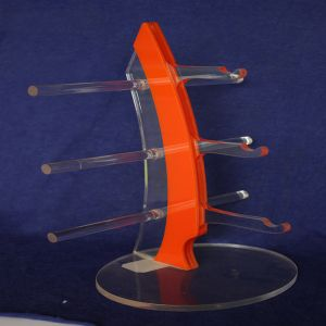 World Pride Sunglasses Rack Holder Glasses Display Stand (Orange) pictures & photos