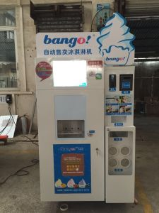 vending soft ice cream machine pictures & photos