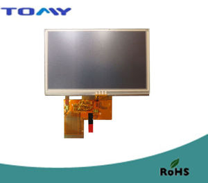 4.3-Inch TFT LCD Module with Resistive Touch Panel pictures & photos