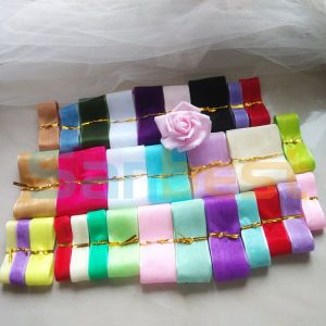 100% Colorful Nylon Organza Ribbon for Package pictures & photos