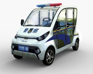 Lvtong Brand 4 Seaters Electric Patrol Cart for Police Use pictures & photos