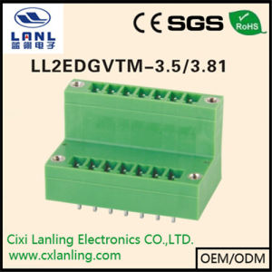 Ll2edgvtm-3.5/3.81 Pluggable Terminal Blocks Connector