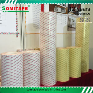Heat-Resistant Adhesive Double Sided Tape/Tissue Double Sided Tape for Advertising Work pictures & photos