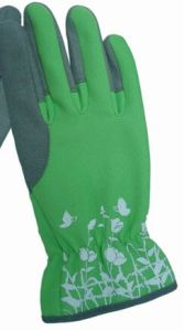 Promotion Synthetic Leather High Quality Women Gardening Gloves pictures & photos