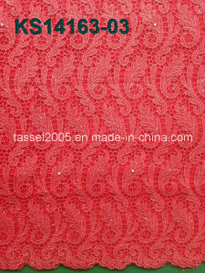 2016 New Wholesale African Cord Lace Fabric, African Cord Lace for Party pictures & photos