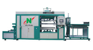 Disposable Plastic Cup Lids Vacuum Thermo Forming Machine